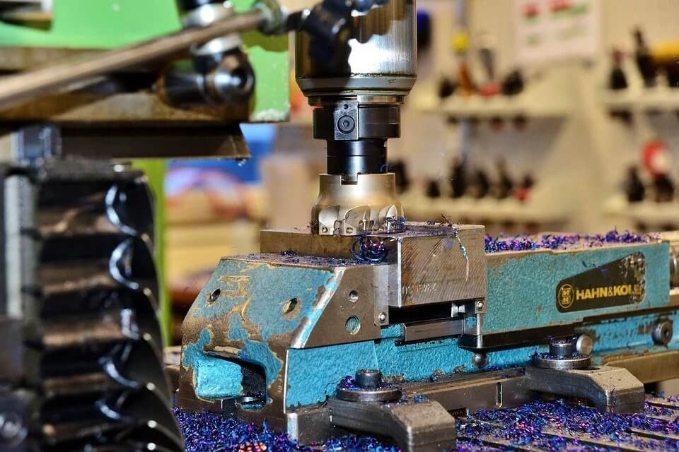 Milling Machine Using Incremental Encoders